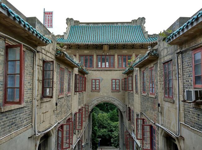 Mê mệt với vẻ đẹp tựa tranh vẽ của ngôi trường được mệnh danh là Đại học hoa anh đào ở Trung Quốc-5