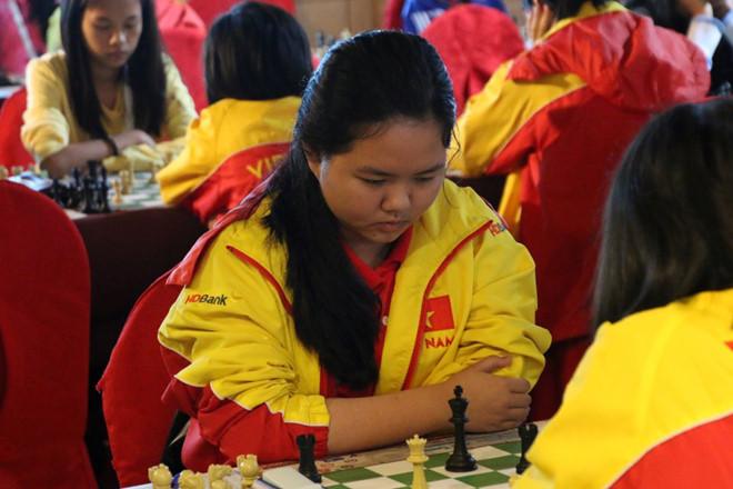 Bạch Ngọc Thùy Dương vô địch cờ nhanh U16 thế giới-1