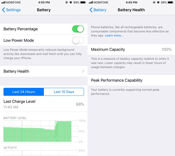 Cách kiểm tra iPhone có bị thay linh kiện hay không?-5