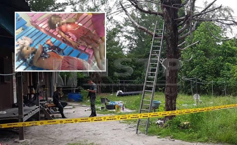 Nghe lời cầu cứu của người đàn ông toàn thân đầy máu, cảnh sát đến chứng kiến cảnh tượng kinh hoàng với 4 đứa trẻ-3