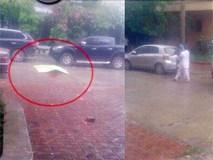 Người đàn ông 35 tuổi đập cửa kính, nhảy từ tầng 8 chung cư xuống rồi tử vong ở Hà Nội