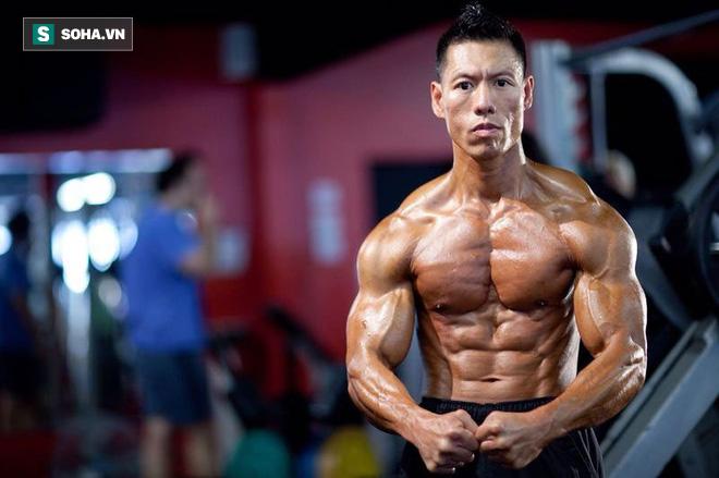 """Lực sĩ mạnh nhất Trung Quốc và cú đấm ngàn cân"""" khiến Chân Tử Đan phải choáng váng-1"""
