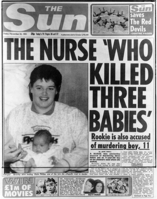 13 án chung thân cho nữ y tá tử thần giết hại hàng loạt đứa trẻ vô tội gây rúng động nước Anh 27 năm trước-1