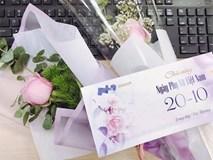 Vợ trẻ bị chồng giận vì món quà 20/10 của đồng nghiệp nam, dân mạng lại vẽ ra