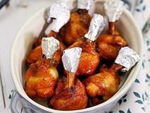 Món ngon cuối tuần: Cánh gà nướng mật ong thơm mềm hấp dẫn