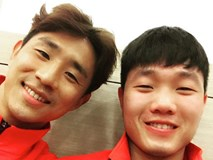 Bạn thân Xuân Trường tặng tuyển Việt Nam đặc sản Hàn Quốc khiến toàn đội bất ngờ