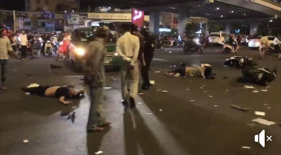 Nữ tài xế BMW tông 5 xe máy ở vòng xoay Sài Gòn, 1 người tử vong-5