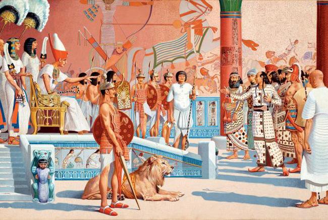 Đám cưới thế kỉ lớn nhất Ai Cập cổ đại: kỳ quái, rộn ràng nhưng cũng đầy chua xót của nàng dâu xứ lạ-4