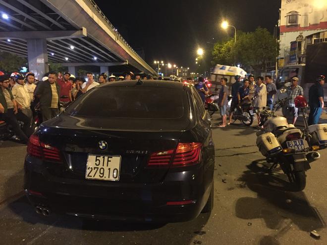 Lời khai ban đầu của nữ tài xế BMW gây tai nạn hàng loạt khiến nhiều người thương vong ở TP.HCM-2