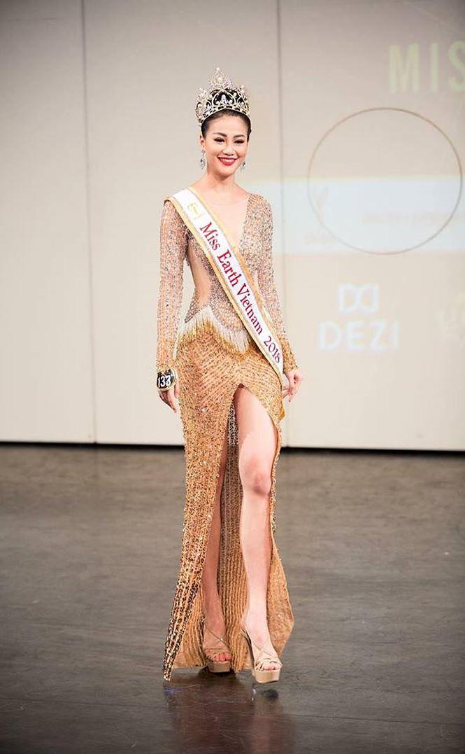 Ngắm body nóng bỏng của người đẹp vừa đoạt HCB bikini ở Miss Earth-7