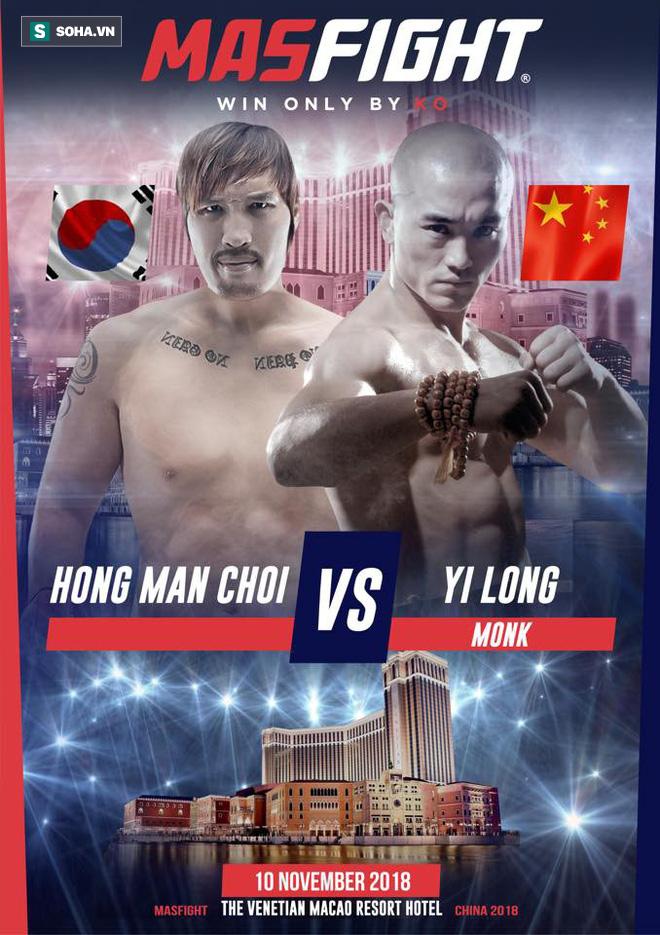 """Đệ nhất Thiếu Lâm Yi Long sắp đại chiến Quái vật khổng lồ"""" cao tới 2,18m, nặng 150kg-1"""