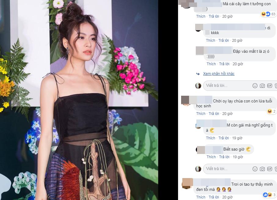 Mặc váy lộ nội y lại còn pha họa tiết nhìn gà hóa cuốc, Hoàng Thùy Linh bị chê tả tơi vì ăn mặc phản cảm-5