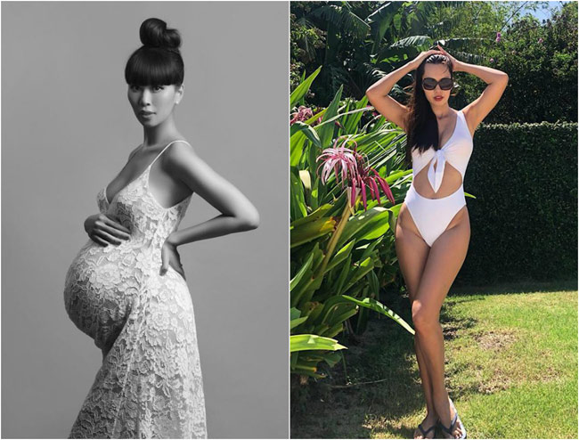 Loạt sao Việt giảm cân thần tốc sau sinh: 4 tháng giảm 32kg-2
