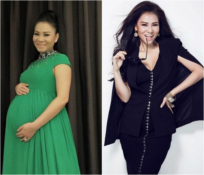 Loạt sao Việt giảm cân thần tốc sau sinh: 4 tháng giảm 32kg-6