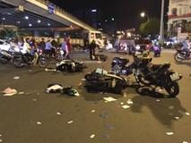 Clip và ảnh hiện trường vụ nữ tài xế gây tai nạn khiến 6 người thương vong ở Hàng Xanh