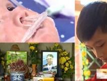 Phút đoàn tụ đẫm nước mắt của 2 con trai nạn nhân vụ cháy ở Đê La Thành