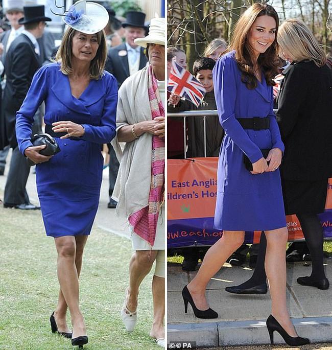 Các thánh soi đã ra tay và tia được Công nương Kate Middleton cùng mẹ đẻ rất hay mặc đồ giống nhau-2