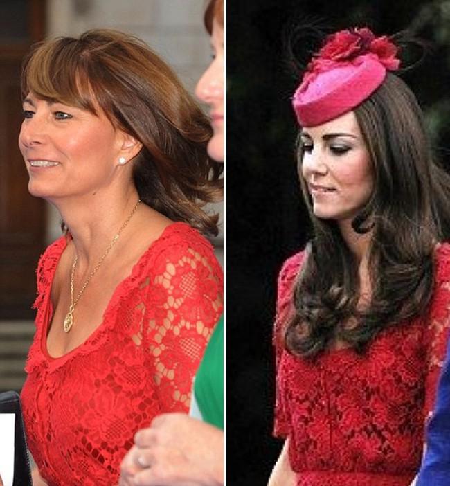 Các thánh soi đã ra tay và tia được Công nương Kate Middleton cùng mẹ đẻ rất hay mặc đồ giống nhau-5