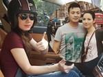 Sắc vóc vợ hai kém 14 tuổi của MC Anh Tuấn thời đi thi Hoa hậu Việt Nam-13