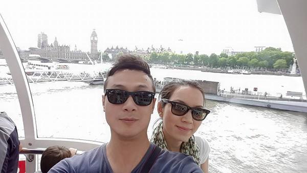 Vợ kém 14 tuổi xinh đẹp của MC Anh Tuấn: Cuộc sống sang chảnh, đi khắp thế giới-4