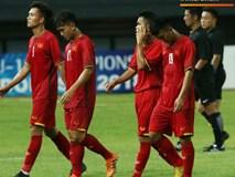 Quá buồn bã, U19 Việt Nam