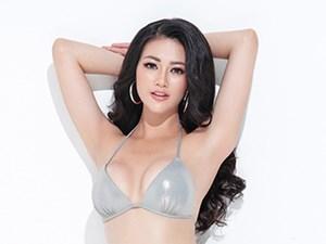 Nguyễn Phương Khánh khoe đường cong chữ S, kêu gọi bình chọn tại Hoa hậu Trái đất 2018