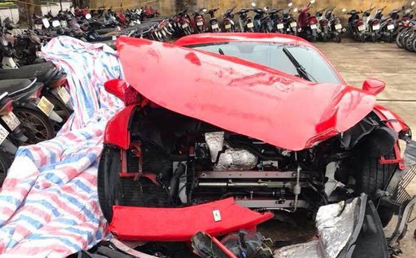 Tuấn Hưng lần đầu tiết lộ thiệt hại của siêu xe 16 tỷ sau khi gặp nạn-2