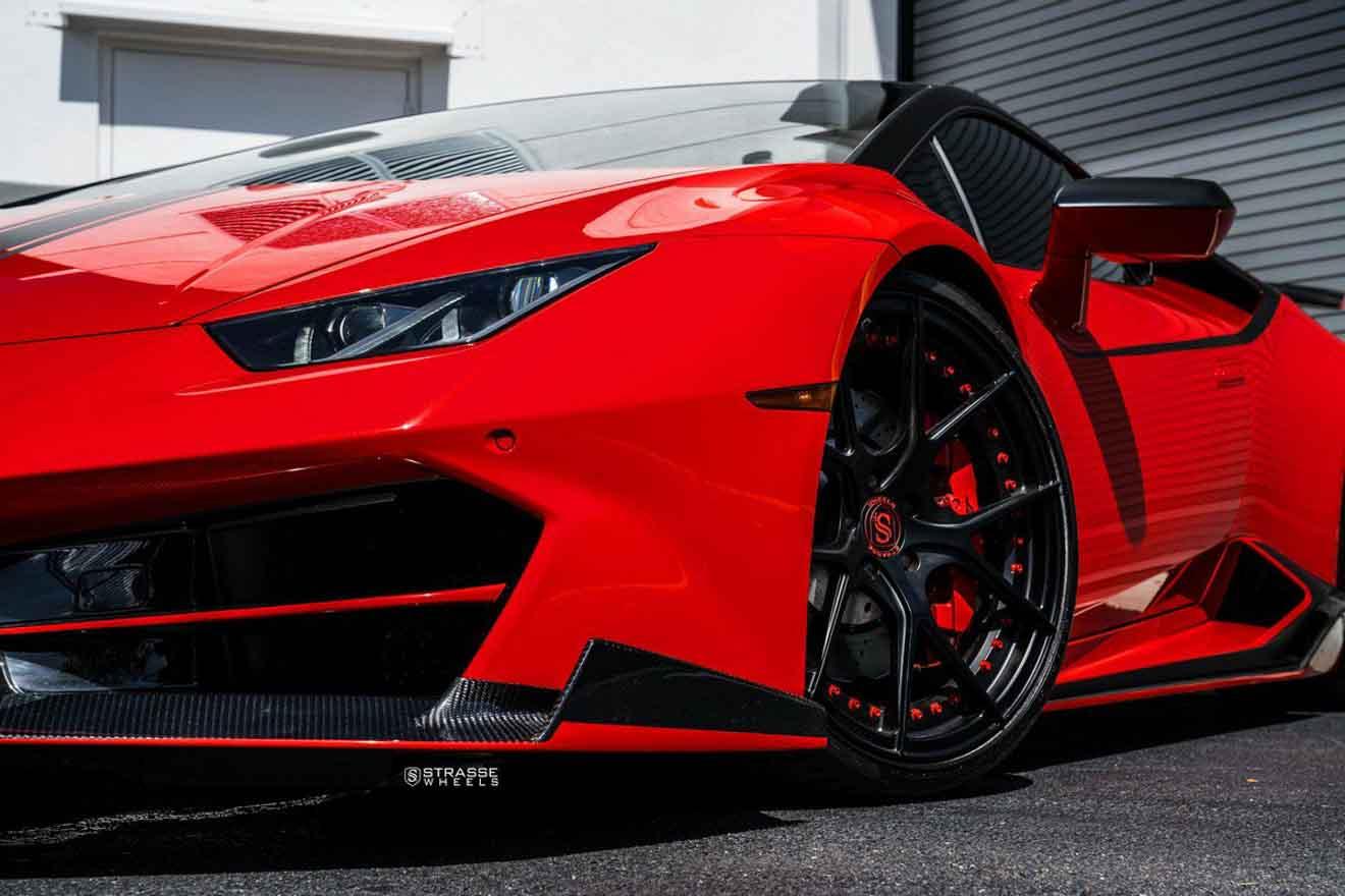 Lamborghini Huracan LP580-2 cực ngầu với bộ mâm hàng hiệu giá hơn 150 triệu đồng-3