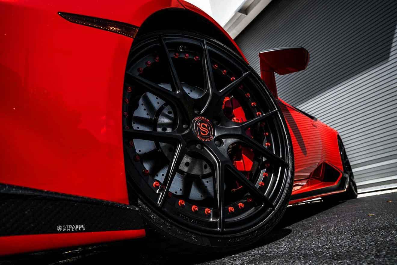 Lamborghini Huracan LP580-2 cực ngầu với bộ mâm hàng hiệu giá hơn 150 triệu đồng-4