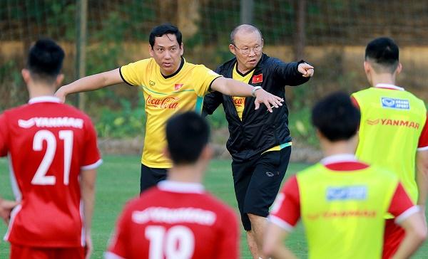 HLV Park Hang Seo cho Trọng Hoàng kết thúc tập huấn tại Hàn Quốc-1