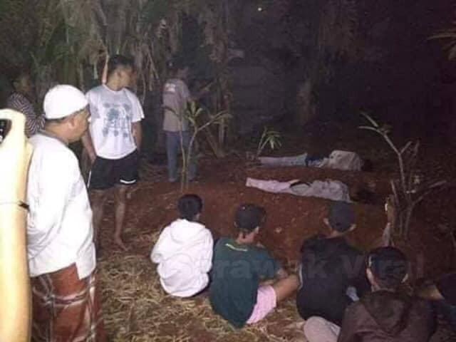 Giả ma dọa dân làng, 2 thanh niên vừa bị bắt ra nghĩa trang nằm ngủ cả đêm cho chừa thói đùa dai-4