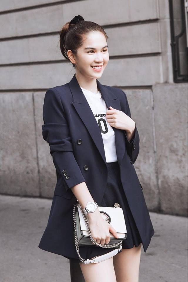 Sải bước trên đường phố Paris, Ngọc Trinh khoe street style chất lừ với hàng hiệu phủ người-15