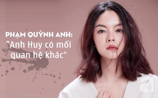 Phạm Quỳnh Anh chính thức xác nhận, đạo diễn Quang Huy có mối quan hệ khác khi cả hai vẫn đang là vợ chồng-2