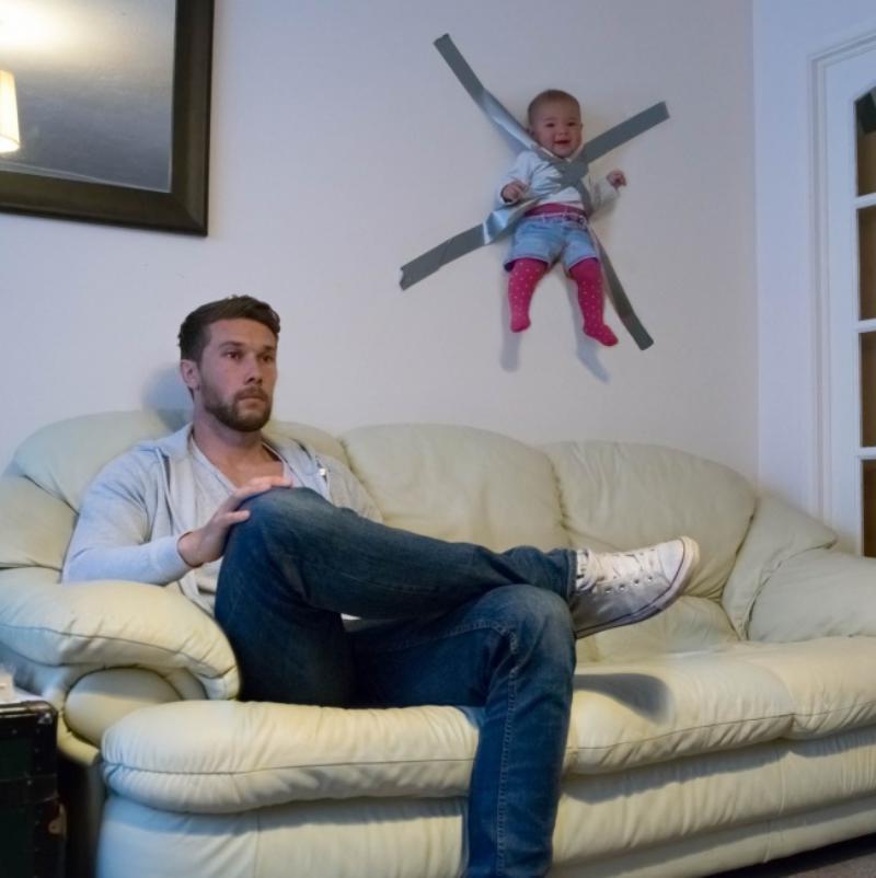 Những bức ảnh chứng minh: Mẹ cứ yên tâm công tác, bố chăm con tốt lắm-7