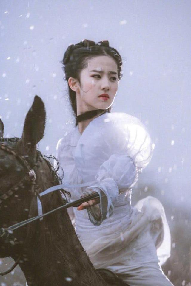 Lưu Diệc Phi xinh đẹp như nữ thần-4
