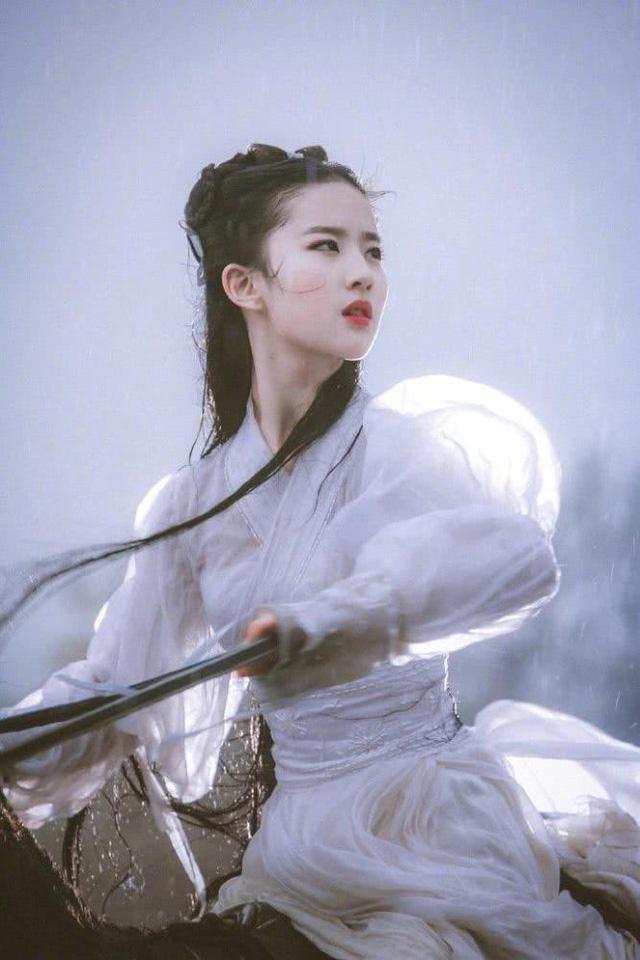 Lưu Diệc Phi xinh đẹp như nữ thần-5