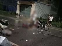Xe máy đấu đầu kinh hoàng, 7 người thương vong