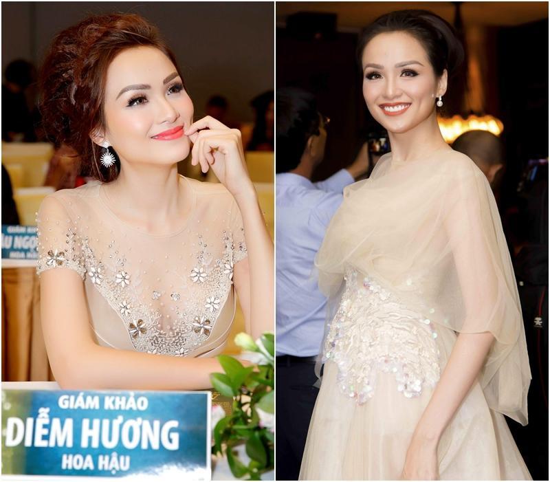 Xuất hiện lạ hoắc thế này, bạn có nhận ra đây là Hoa hậu nổi tiếng nào của showbiz Việt?-11