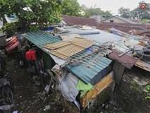Khu ổ chuột của hơn 15.000 người sống