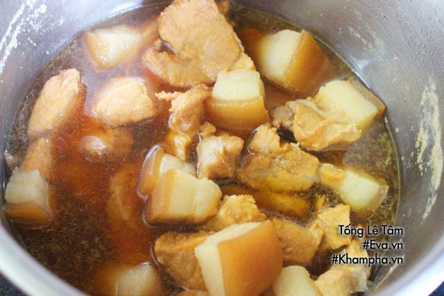 Cuối tuần làm thịt kho củ cải đậm đà, mềm thơm dụ cả nhà ăn cơm-2
