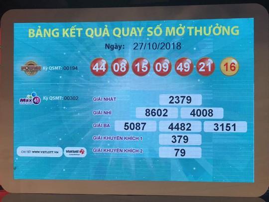 NÓNG: Vừa có người trúng Vietlott gần 97 tỉ đồng ở TP HCM-1