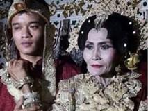 Trai trẻ 20 tuổi kết hôn với bà lão