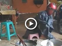 Chồng vào bếp nhưng cái kết khiến cư dân mạng phải thốt lên