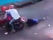 Bắt 2 tên cướp giật túi xách khiến cô gái chết thảm ở Sài Gòn
