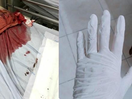 Bức hình máu me gây ám ảnh và câu chuyện đau lòng từ một người bác sĩ