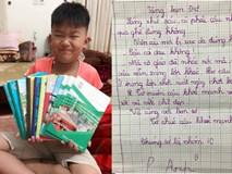 Bị ngã trật chân, cậu bé lớp 4 bất ngờ nhận được xấp thư hỏi thăm từ bạn bè