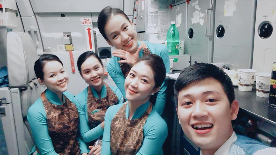 Đã đẹp lại còn giỏi, cựu sinh viên Bách Khoa trở thành tiếp viên hàng không với cuộc sống như mơ-3