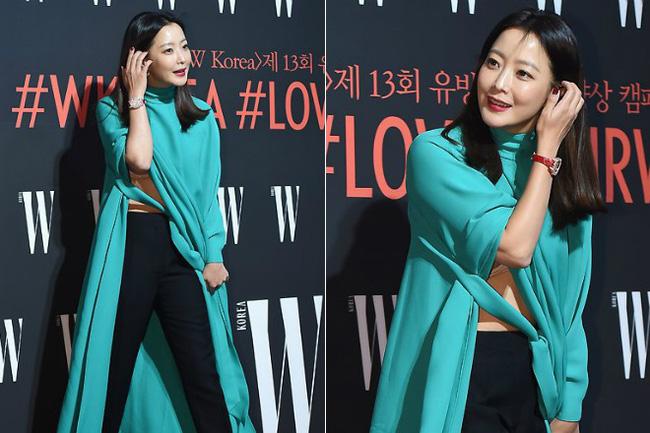 Nhan sắc trẻ trung bất chấp tuổi 41 của Kim Hee Sun cũng không thể cứu vãn nổi ca mặc khó hiểu, kém duyên này-6