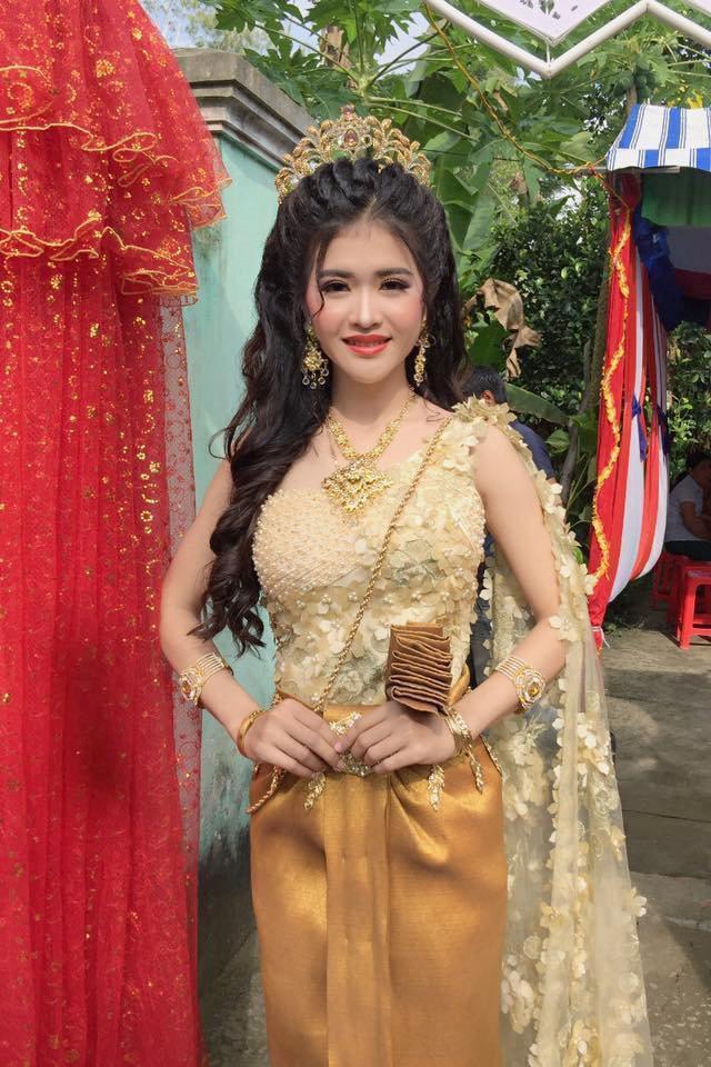 Sự thật bất ngờ đằng sau nhan sắc cô dâu Khmer được khen xinh hơn hoa hậu!-2