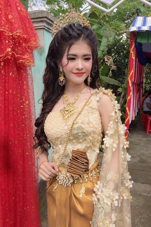 Sự thật bất ngờ đằng sau nhan sắc cô dâu Khmer được khen xinh hơn hoa hậu!-6